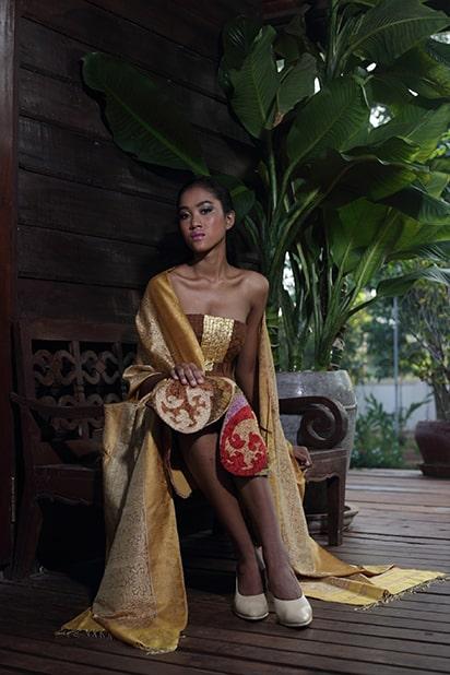 Angkor Golden Silk IKAT & Brocatel