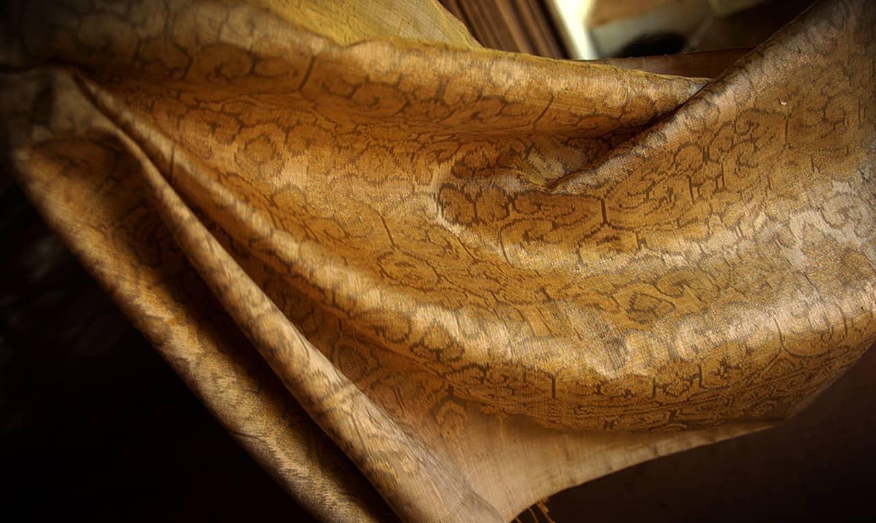 Golden Silk IKAT Khmer Style