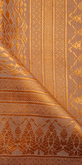 Golden Silk Khmer Style Fabric