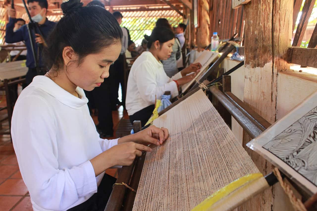 Golden Silk Weaving Workshop