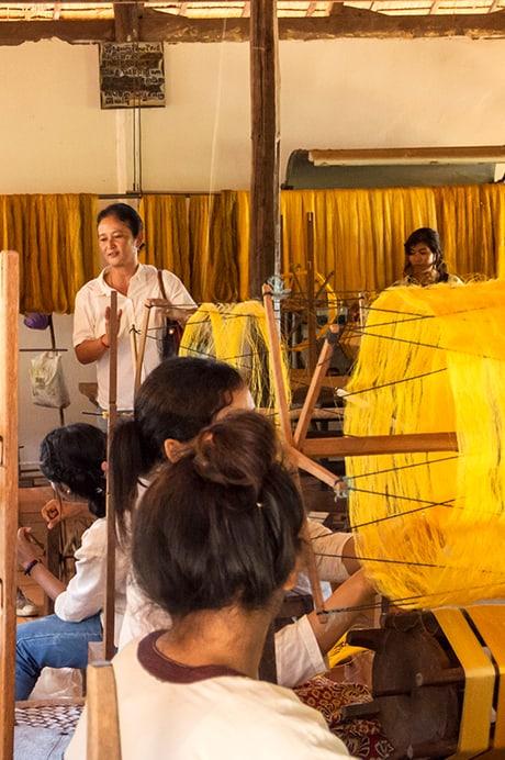 Golden Silk Weaving