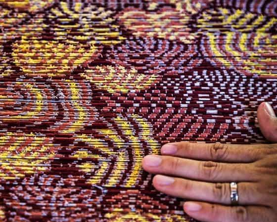 Golden Silk IKAT Process